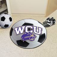 Western Carolina Catamounts Soccer Ball Mat