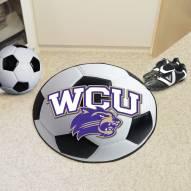Western Carolina Catamounts Soccer Ball Mat