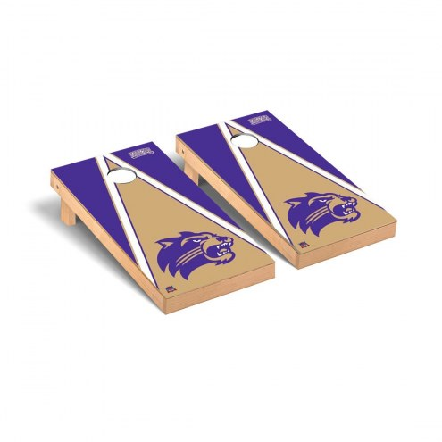 Western Carolina Catamounts Triangle Cornhole Game Set