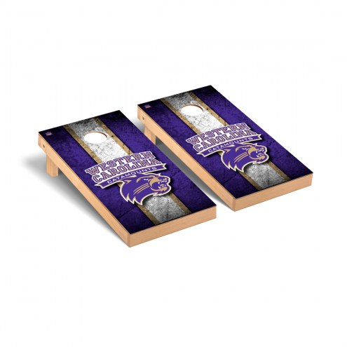 Western Carolina Catamounts Vintage Cornhole Game Set