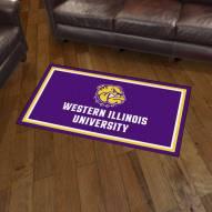 Western Illinois Leathernecks 3' x 5' Area Rug
