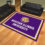 Western Illinois Leathernecks 8' x 10' Area Rug