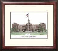 Western Illinois Leathernecks Alumnus Framed Lithograph