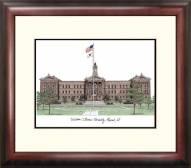 Western Illinois Leathernecks Alumnus Framed Lithograph