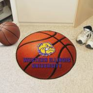 Western Illinois Leathernecks Basketball Mat