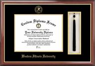 Western Illinois Leathernecks Diploma Frame & Tassel Box