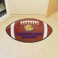 Western Illinois Leathernecks Football Floor Mat