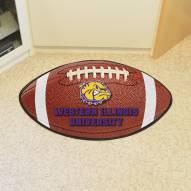 Western Illinois Leathernecks Football Floor Mat