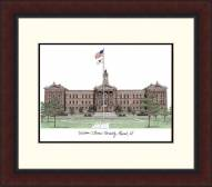 Western Illinois Leathernecks Legacy Alumnus Framed Lithograph