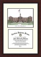 Western Illinois Leathernecks Legacy Scholar Diploma Frame