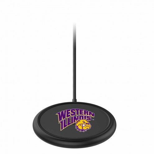 Western Illinois Leathernecks mophie Charge Stream Pad+ Wireless Charging Base