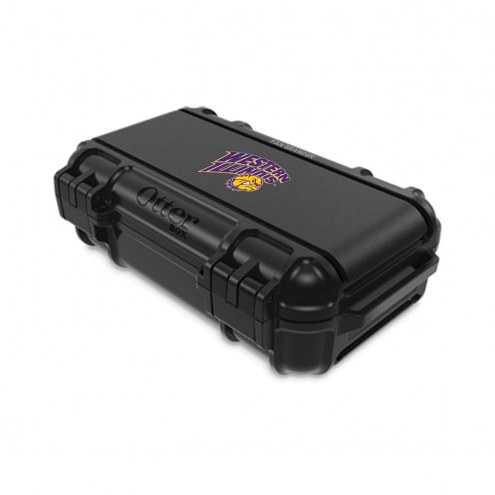 Western Illinois Leathernecks OtterBox Black Drybox Phone Holder