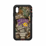 Western Illinois Leathernecks OtterBox iPhone XS Max Defender Realtree Camo Case