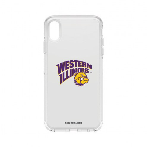 Western Illinois Leathernecks OtterBox iPhone XS Max Symmetry Clear Case