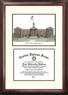 Western Illinois Leathernecks Scholar Diploma Frame
