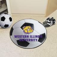 Western Illinois Leathernecks Soccer Ball Mat