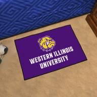 Western Illinois Leathernecks Starter Rug