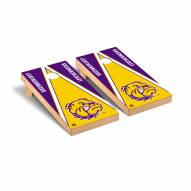 Western Illinois Leathernecks Triangle Cornhole Game Set