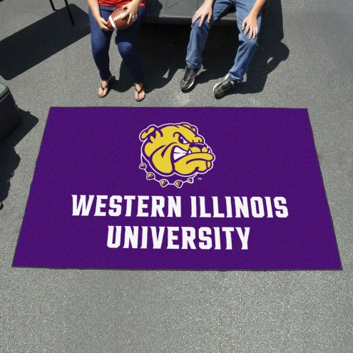 Western Illinois Leathernecks Ulti-Mat Area Rug