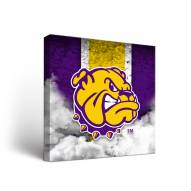 Western Illinois Leathernecks Vintage Canvas Wall Art