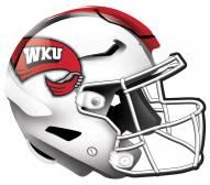 """Western Kentucky Hilltoppers 12"""" Helmet Sign"""