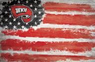 "Western Kentucky Hilltoppers 17"" x 26"" Flag Sign"