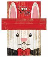 "Western Kentucky Hilltoppers 19"" x 16"" Easter Bunny Head"