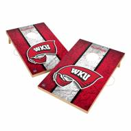 Western Kentucky Hilltoppers 2' x 3' Vintage Wood Cornhole Game