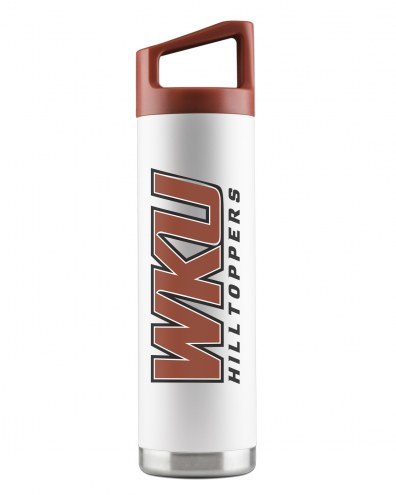 Western Kentucky Hilltoppers 22 oz. Stainless Steel Powder Coated Water Bottle