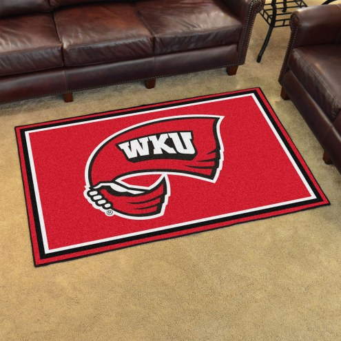Western Kentucky Hilltoppers 4' x 6' Area Rug