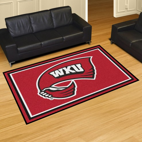 Western Kentucky Hilltoppers 5' x 8' Area Rug