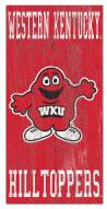 """Western Kentucky Hilltoppers 6"""" x 12"""" Heritage Logo Sign"""
