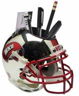 Western Kentucky Hilltoppers Alternate 1 Schutt Football Helmet Desk Caddy