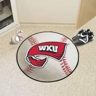 Western Kentucky Hilltoppers Baseball Rug