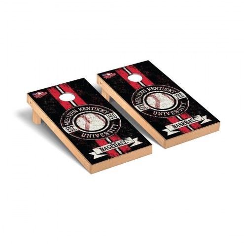 Western Kentucky Hilltoppers Baseball Vintage Cornhole Game Set