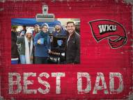 Western Kentucky Hilltoppers Best Dad Clip Frame