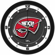 Western Kentucky Hilltoppers Carbon Fiber Wall Clock