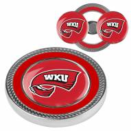 Western Kentucky Hilltoppers Challenge Coin with 2 Ball Markers