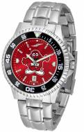 Western Kentucky Hilltoppers Competitor Steel AnoChrome Color Bezel Men's Watch