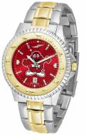 Western Kentucky Hilltoppers Competitor Two-Tone AnoChrome Men's Watch