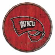"Western Kentucky Hilltoppers Cracked Color 24"" Barrel Top"