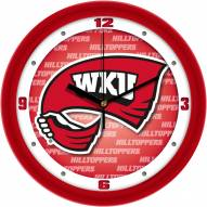 Western Kentucky Hilltoppers Dimension Wall Clock