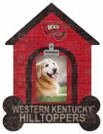 Western Kentucky Hilltoppers Dog Bone House Clip Frame