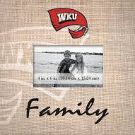 Western Kentucky Hilltoppers Family Picture Frame