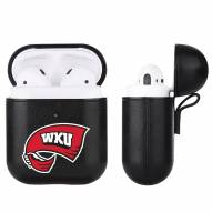 Western Kentucky Hilltoppers Fan Brander Apple Air Pods Leather Case