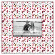 """Western Kentucky Hilltoppers Floral Pattern 10"""" x 10"""" Picture Frame"""