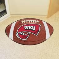 Western Kentucky Hilltoppers Football Floor Mat