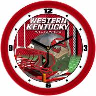 Western Kentucky Hilltoppers Football Helmet Wall Clock