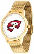 Western Kentucky Hilltoppers Gold Mesh Statement Watch