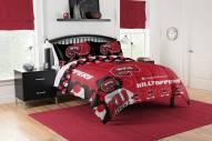 Western Kentucky Hilltoppers Hexagon Full/Queen Comforter & Shams Set